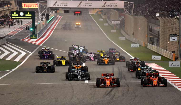 bahrain to hold formula one race without spectators over