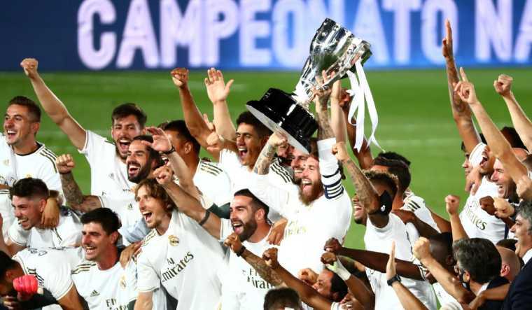 madrid liga champions game