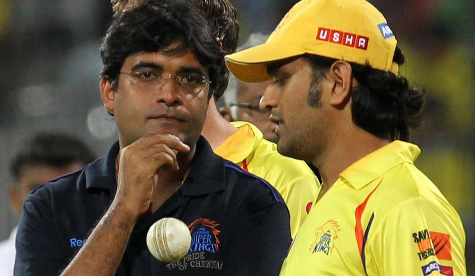 Image result for dhoni and meyyappan