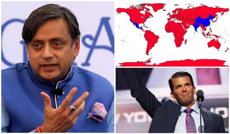 Tharoor calls Trump Jr's electoral map projection 'the ...